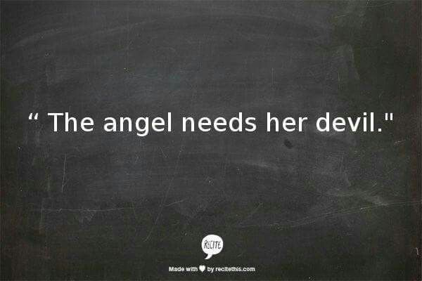 Devil And Angel Quotes: 114 Best Images About Angels/Demons On Pinterest