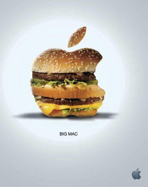 Designer Creates Ad Parodies Of Famous Brands - DesignTAXI.com