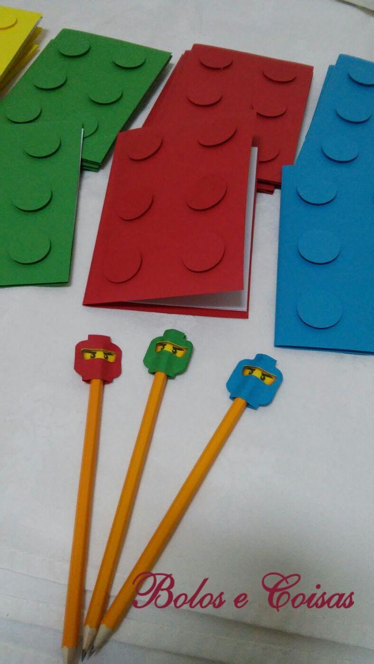 Bolos e coisas - Bolos decorados (Cake Design): Lego * Lembranças