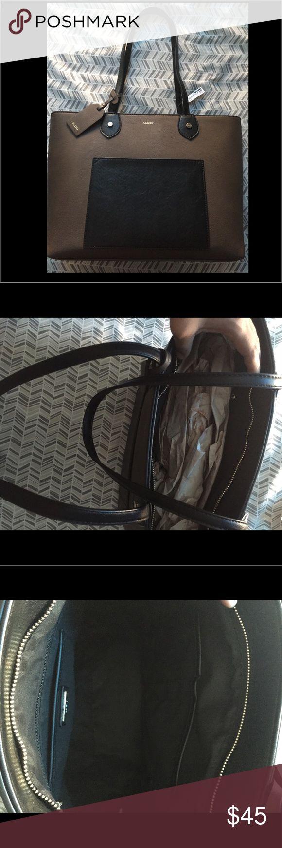 Aldo tote bag **Color Block** Brand New!! Aldo tote bag. Retail price 60.00 Aldo Bags Totes