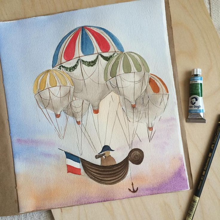 Inspired by @limkina #watercolor #aquarelle #акварель
