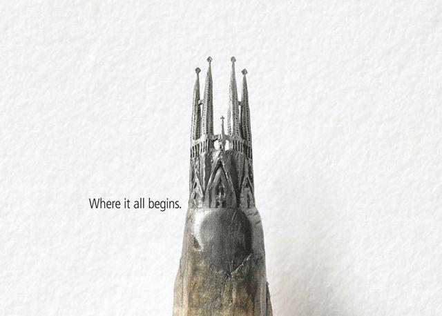 The world's smallest Sagrada Familia