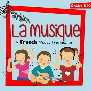 This unit was designed for a middle school French as Second Language class.There are daily activities, grammar notes, a vocabulary quiz, a project idea, and a unit test.