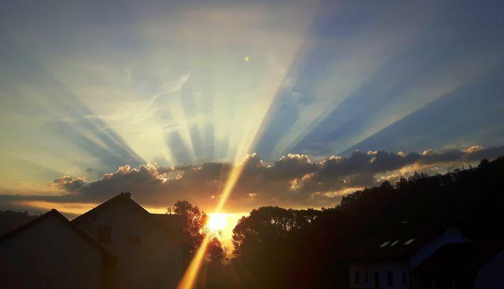 Sonnenaufgang im Gailachtal