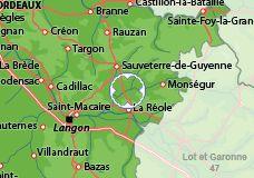 massa mara | Maison à Loubens, location vacances Gironde : Disponible pour 8 ...