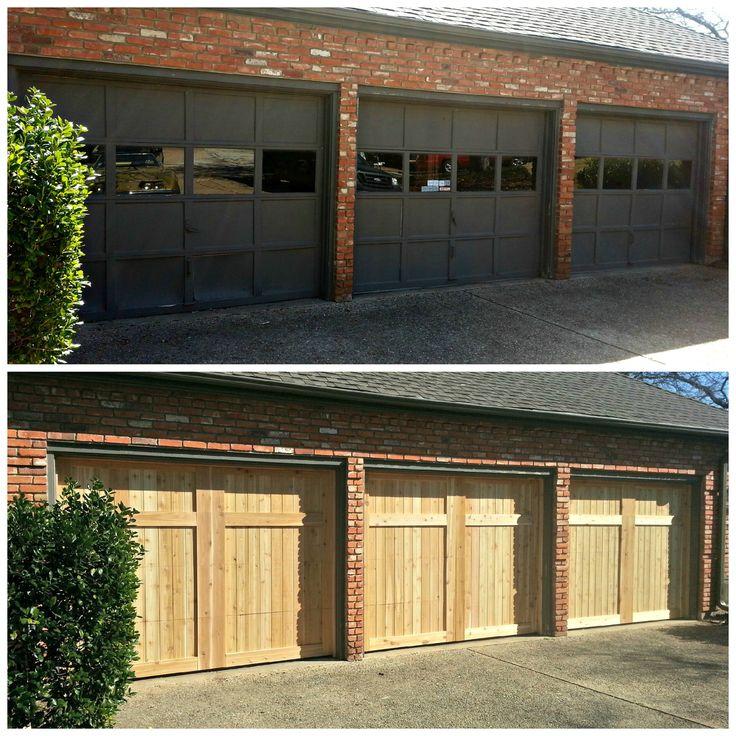 Best 25 9x7 garage door ideas on pinterest pine trim for Carriage garages