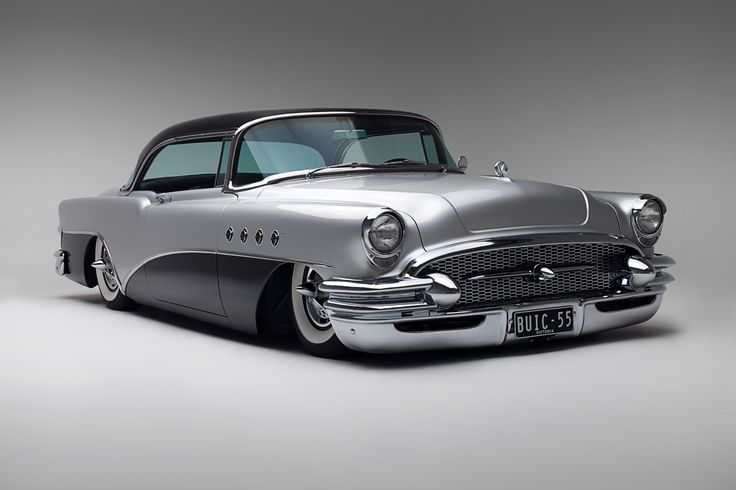 1955 Buick - my dad had a new seafoam green & white '55 Super Riviera 2dr hardtop. Very fast for a heavy car.