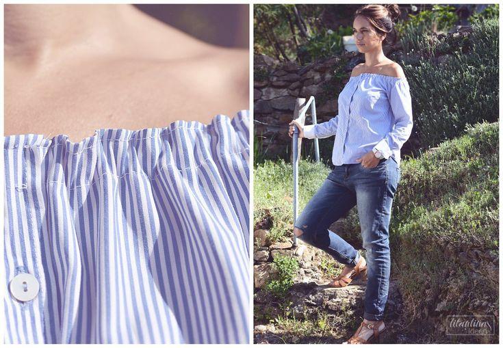 Man sieht sie momentan überall: Schulterfreie Tops. Ob Blusen, Kleider oder Shirts, sie verleihen jedem Outfit das gewisse Etwas und wirk...