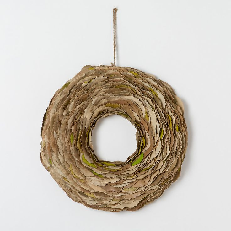 Whirled Leaves Wreath in House+Home HOME+DÉCOR Wall Décor Wreaths+Garlands at Terrain
