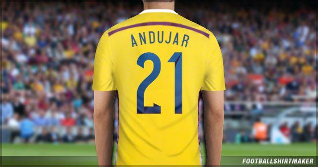 La camiseta de arquero de Argentina de Andujar
