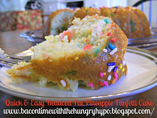 Low Calorie Box Cake Mix Recipes: Cake Ingredients: 1 Box Of Pillsbury Funfetti Cake Mix 1