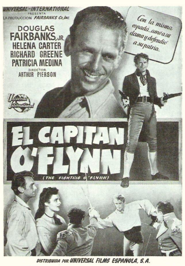 """El capitán O'Flynn (1949) The Fighting O'Flynn"""" de Arthur Pierson - tt0041363"""