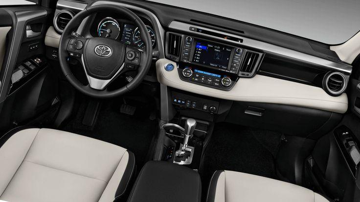 New 2019 Toyota RAV4 Hybrid Interior Design