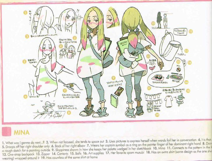 Mina Concept Art