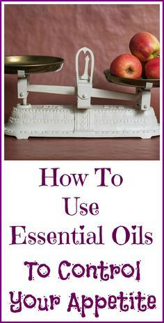 How essential oils can help curb your appetite so you consume fewer calories and lose weight.
