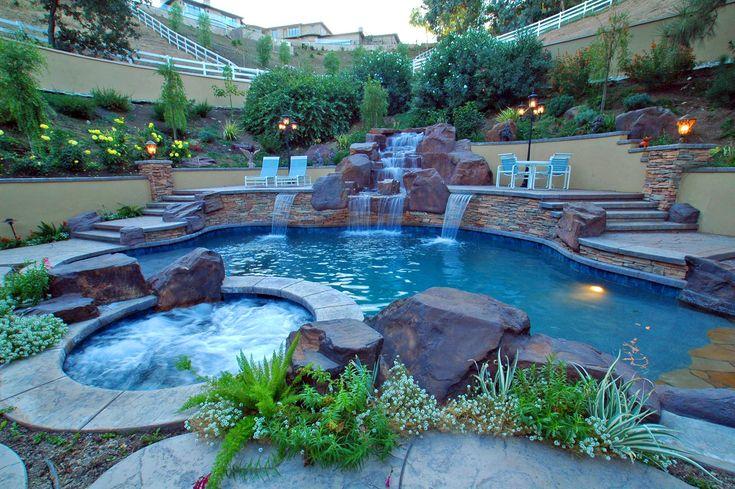 17 best images about pools on pinterest vinyls decks for Pool design los angeles ca