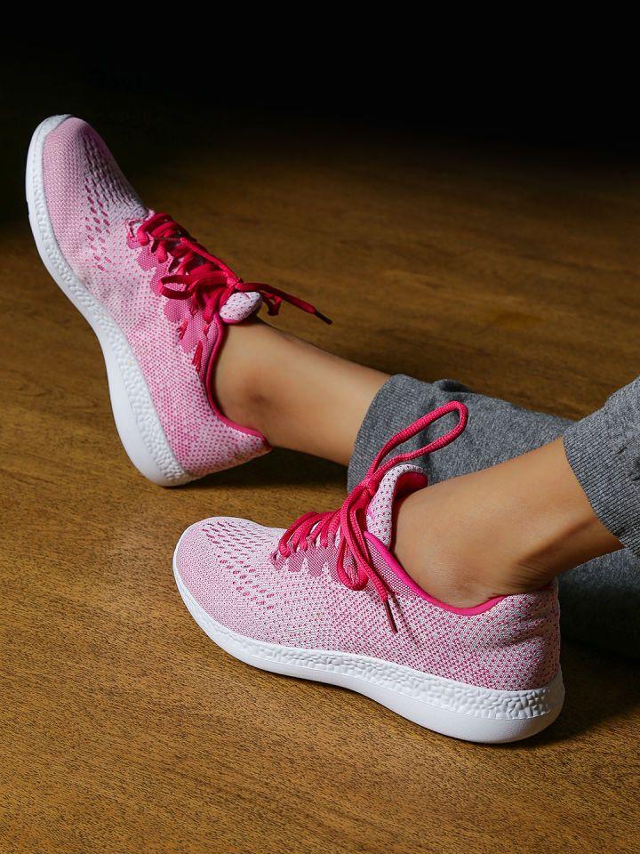 Hrithik Roshan Women Pink Running Shoes