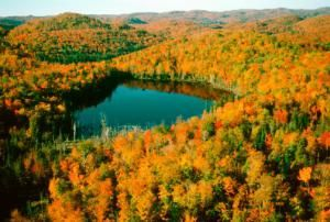 10 of the Best Places to See Fall Foliage in Canada: The Laurentian Mountains, Quebec