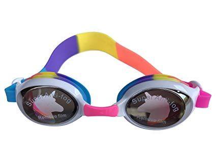 147a21f5 Aqua2ude Rainbow Unicorn Swim Goggles Super Anti-Fog Kids Girls Youth  Swimming Review