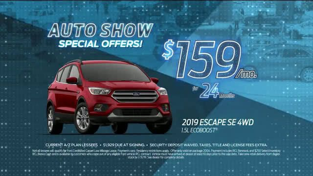 Ford 2019 Ford Escape Auto Show Special Offer Escape Ad Commercial On Tv 2019 Special Offer Commercial Ford Escape