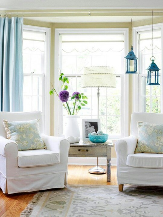 28 best Bay Window Decorating images on Pinterest | Dinner parties ...