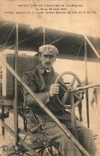 5/21/1878 – Glenn Hammond Curtiss was born in Hammondsport, New York. He became the pioneer of the first years of powered flight for the US Navy.  #CAP #aerospace #education #aviation #history