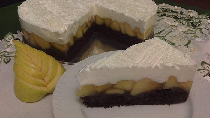 Výborný jablečný koláč se sněhovou peřinkou
