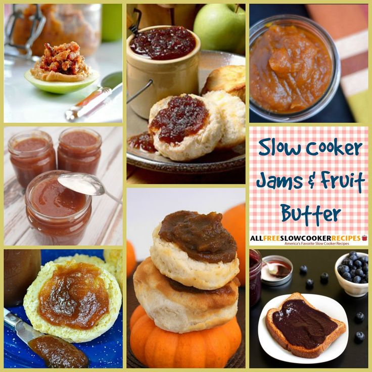 You can make a variety of jams, butters, jellies, and curds using your slow cooker. We've got handy guide, Slow Cooker Jams 14 Recipes for Slow Cooker Jam Making + Bonus Fruit Butters, to show you how! Our collection features classics such as slow cooker strawberry jam, as well as unconventional options such as our slow-cooker bacon jam recipe.