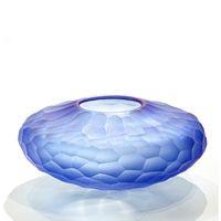 Mundblæst glas. Indretning. Vase - unika vaser