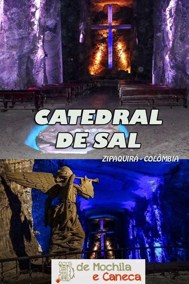 Imagine uma Catedral construída no interior de uma mina de sal localizada a cerca de 180 metros abaixo da Terra? Imaginou? Esta mina fica localizada nas proximidades de Bogotá e é um passeio imperdível pra quem visita a capital da Colômbia! Neste post nós vamos contar como é visitar a Catedral de Sal de Zipáquirá, uma das principais atrações do país.