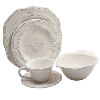 Shop for American Atelier 20-piece Baroque Dinnerware Set . Get free delivery at Overstock.com - Your Online Kitchen