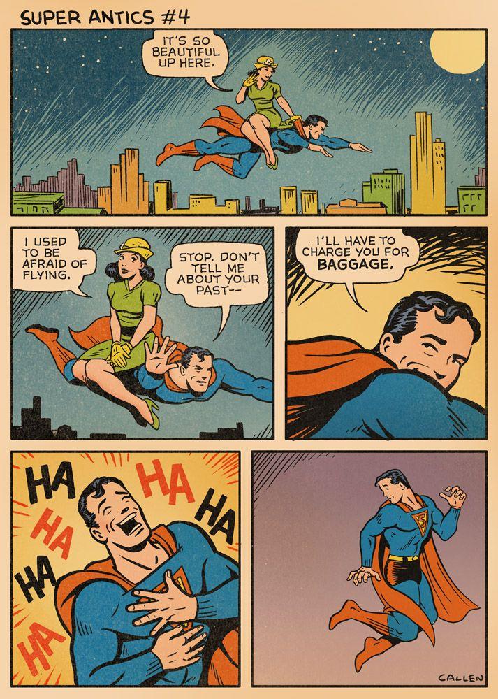 Super Antics #4, by Kerry Callen