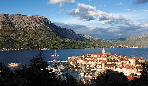 Korcula, Dalmatian Coast, Croatia