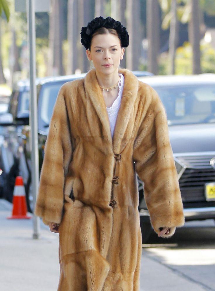 Jaime King #JaimeKing in Bizarre Fur Look  Beverly Hills 01/03/2017 Celebstills J Jaime King