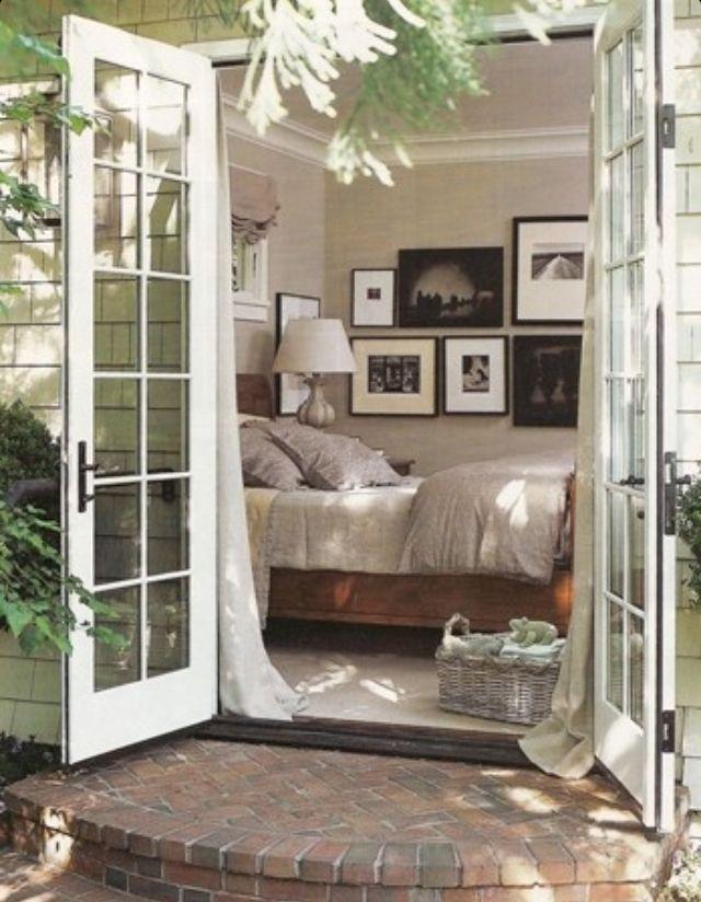 French Doors French Doors Master Bedroom