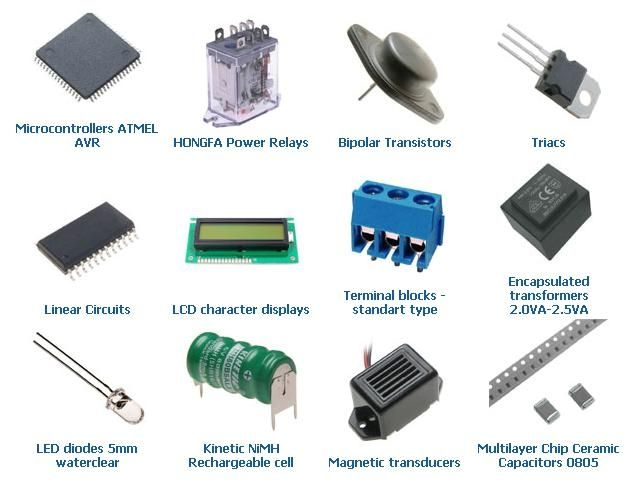 Electronic components | Makerspace Ideas | Electronics components