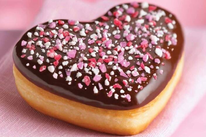 Valentine Donut by Tim Hortons