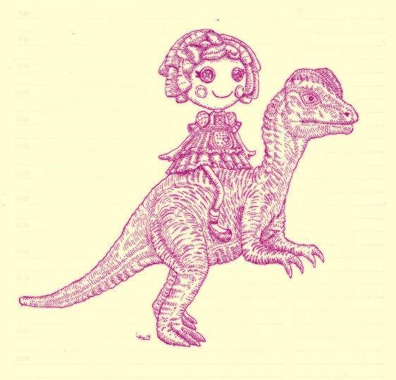 #Lalaloopsaurus