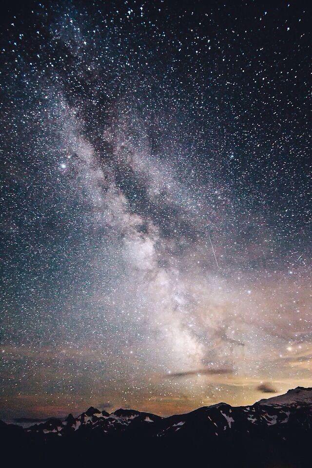 Chasing Stars at Mount Rainier 5/5 by Jared Atkins