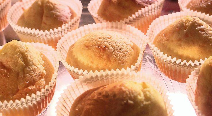 youghurtcakejes met stevia, zonder boter