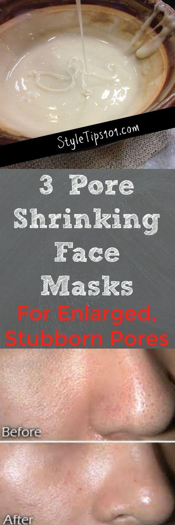 3 Pore Shrinking Face Masks You Should Make Today!