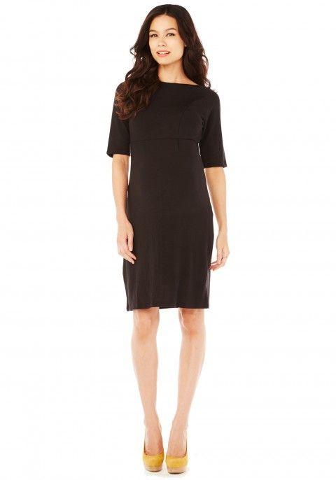 Space Dye Dress - Black