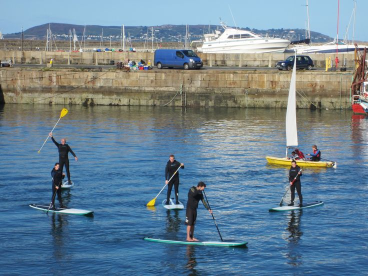 SUP lessons Dun Laoghaire