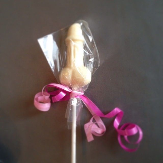 Chocolate willy's perfect for hen do's
