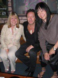 Cynthia Powell-Lennon, Julian Lennon, and May Pang