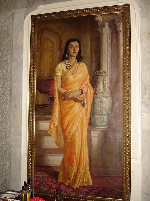 Gayatri Devi by steve.mandi, via Flickr