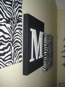 17 best images about chambre de zebre on pinterest for Zebra room decor walmart