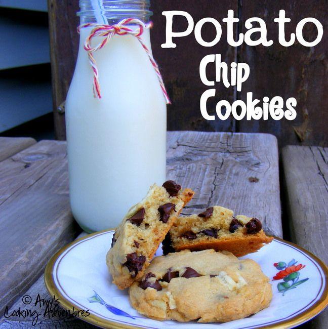 Potato Chip Cookies | COOKIES, Brownies & Bars | Pinterest
