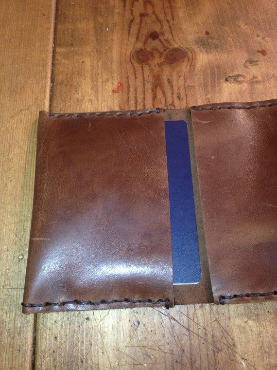 Кожа владельца паспорта коричневый Passport от LUSCIOUSLEATHERNYC