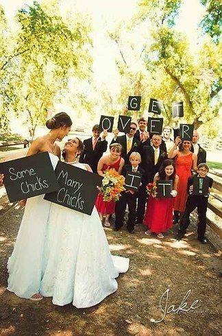 Mandie Grady | 14 Pinterest Boards That'll Inspire Your Perfect Lesbian Wedding